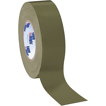 "Tape Logic Duct Tape, 10 Mil, 2"" x 60 yds., Olive Green, 3/Case (T987100LV3PK)"