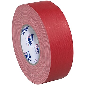 "Tape Logic Gaffers Tape, 11 Mil, 1"" x 60 yds., Red, 3/Case (T98618R3PK)"