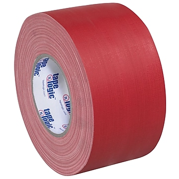 "Tape Logic Gaffers Tape, 11 Mil, 4"" x 60 yds., Red, 3/Case (T98918R3PK)"