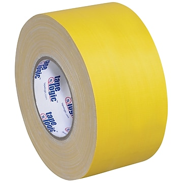 "Tape Logic Gaffers Tape, 11 Mil, 4"" x 60 yds., Yellow, 3/Case (T98918Y3PK)"