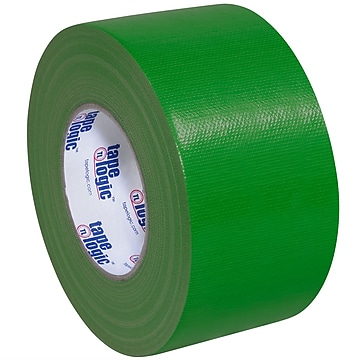 "Tape Logic™ 10 mil Duct Tape, 3"" x 60 yds, Green, 3/Pack"