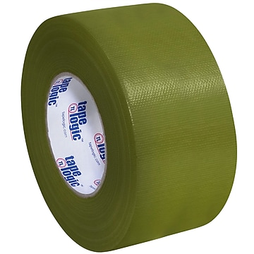 """Tape Logic™ 10 mil Duct Tape, 3"""" x 60 yds, Olive Green, 3/Pack"""