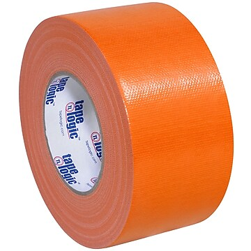 "Tape Logic™ 10 mil Duct Tape, 3"" x 60 yds, Orange, 16/Pack"