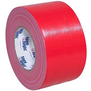 "Tape Logic™ 10 mil Duct Tape, 3"" x 60 yds, Red, 16/Pack"