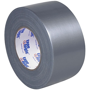 "Tape Logic™ 10 mil Duct Tape, 3"" x 60 yds, Silver, 16/Pack"