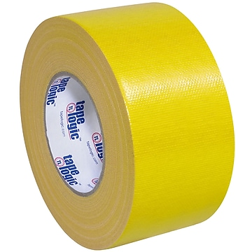 "Tape Logic™ 10 mil Duct Tape, 3"" x 60 yds, Yellow, 16/Pack"