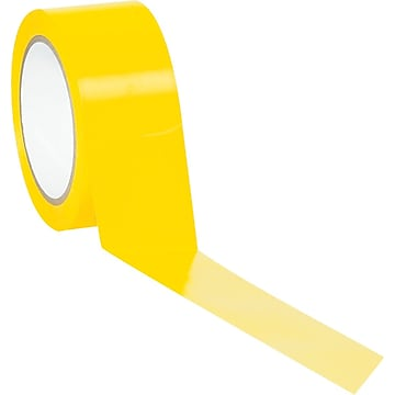 "Tape Logic™ 2"" x 36 yds. Solid Vinyl Safety Tape, Yellow, 3/Pack"