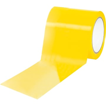 "Tape Logic™ 4"" x 36 yds. Solid Vinyl Safety Tape, Yellow, 3/Pack"