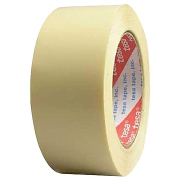 """Tesa 1"""" x 60 yds. Clean Removing TPP Strapping Tape, Ivory"""