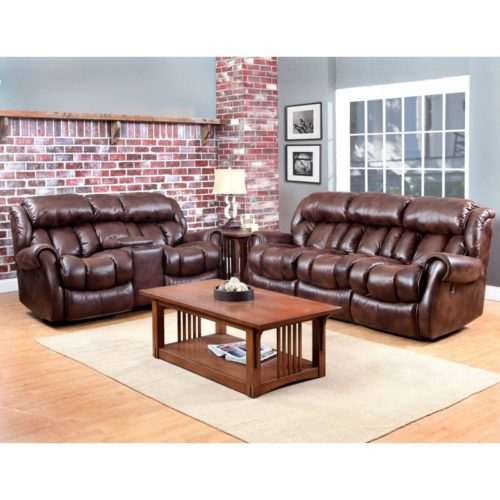 HomeStretch Cody 3 Piece Living Room Set