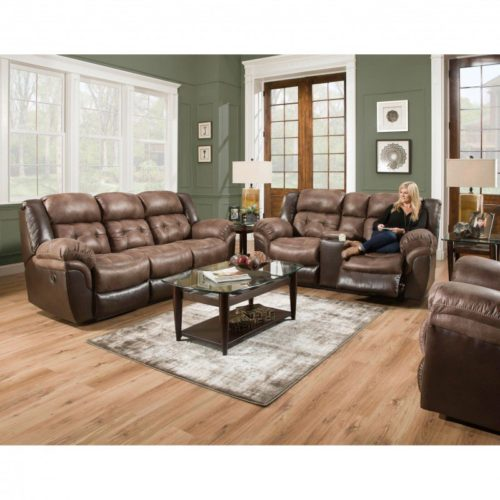 HomeStretch Fenway 3 Piece Power Reclining Living Room Set