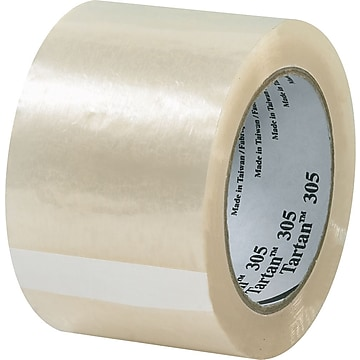"Scotch #305 Acrylic Packing Tape, 2""x110 yds., 36/CS"