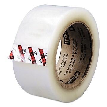 "Scotch Box Sealing Tape, 48 Mm X 100 M, 3"" Core, Clear, 36/carton"