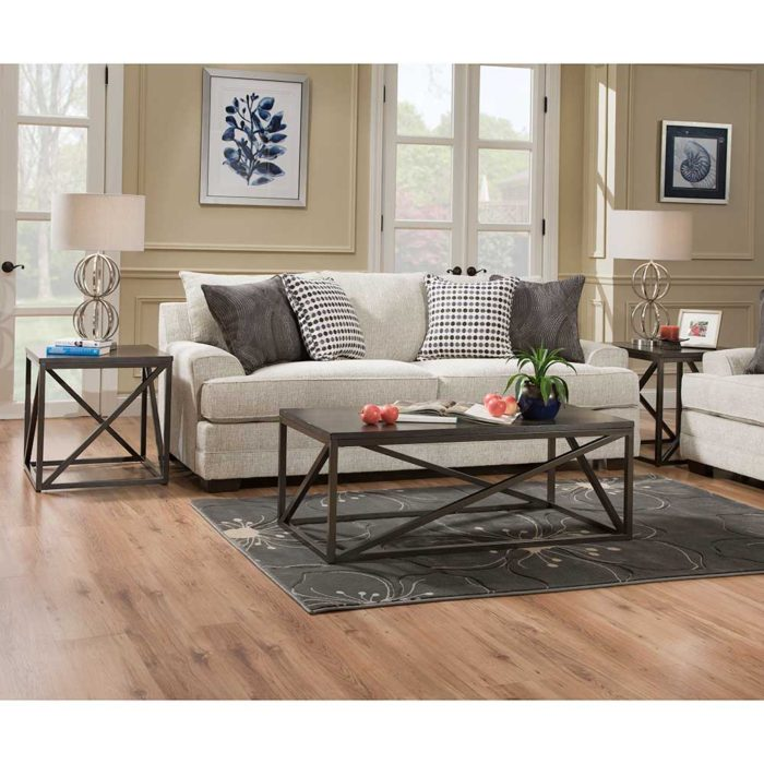 Simmons Upholstery by Lane Home Furnishings Dillon Driftwood Queen Sleeper Sofa