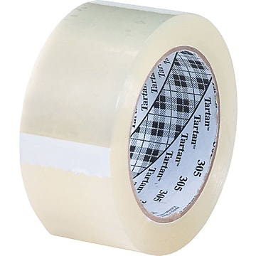 """Universal Acrylic Packing Tape, 2"""" x 110 Yds., Clear, Dozen (UNV66100)"""