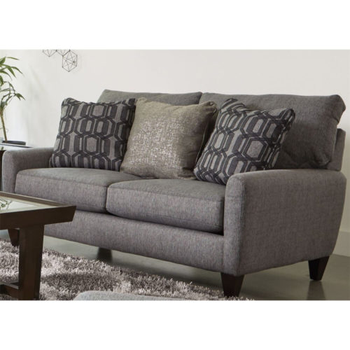 Jackson Ackland Loveseat with USB port in Charcoal