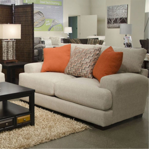 Jackson Ava Loveseat in Cashew